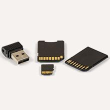 Récupération de données SD & USB